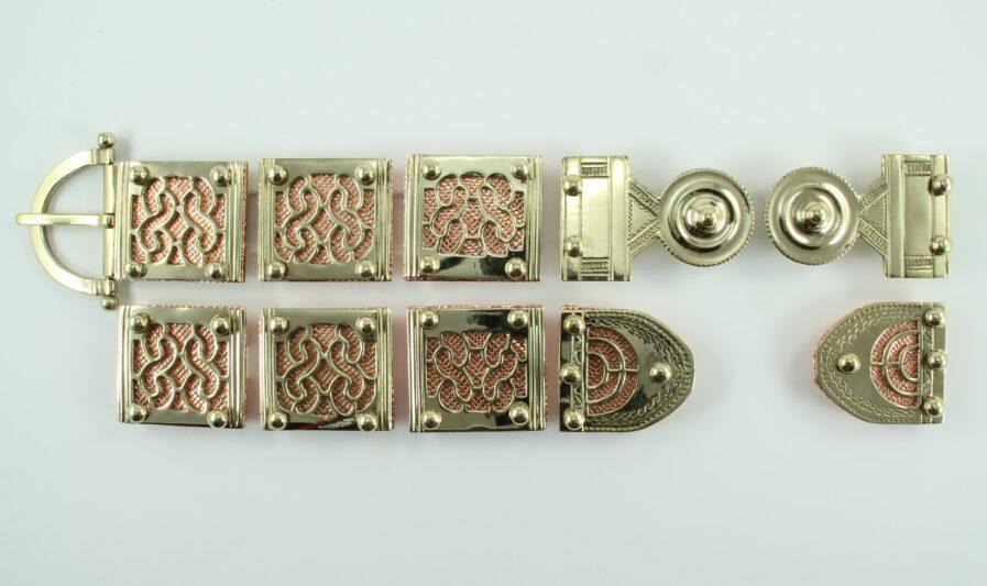 kit placche Castillejo in ottone